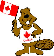 Canadian beaver cartoon